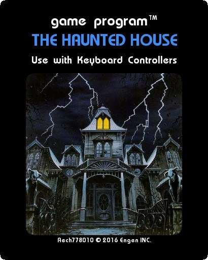 Haunted House Browser Game: Sandpit Text Adventure Games
